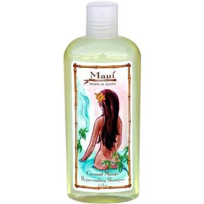 Maui Tropical Soaps Rejuvenating Shampoo Coconut Mango, 8.5-Ounce