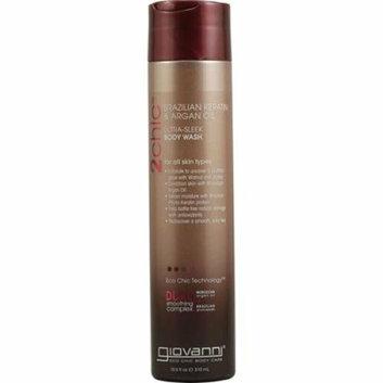 Giovanni Hair Products Giovanni 2chic Ultra-Sleek Body Wash with Brazilian Keratin and Argan Oil 10.5 fl oz
