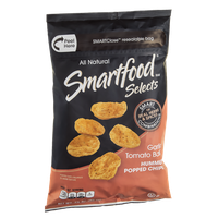 Smartfood® Selects All Natural Chips Hummus Popped Garlic Tomato Basil