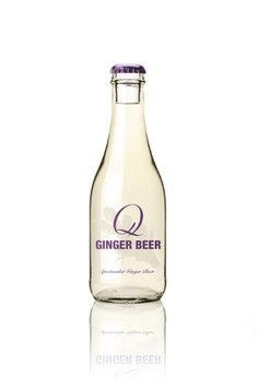 Q Drinks SODA, GINGER BEER, GLASS, (Pack of 6)