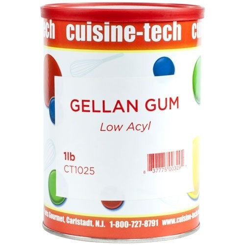 Cuisine Tech Gellan Gum - Low Acyl - 1 can - 1 lb