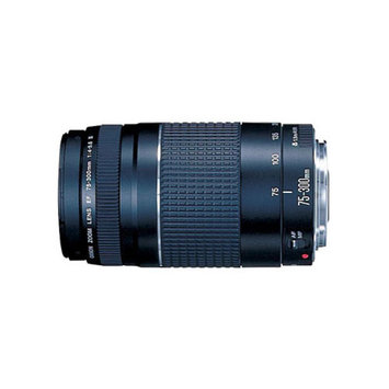 Canon EF 75-300mm f/4-5.6 III Telephoto Zoom Lens for Canon SLR