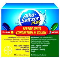 Alka-Seltzer Plus Severe Sinus Congestion & Cough Day/Night Liquid Gels, 20 ea