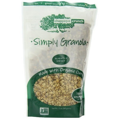 Chappaqua Crunch Granola Chappaqua Crunch Simply Granola, 13-Ounce Pouches (Pack of 6)