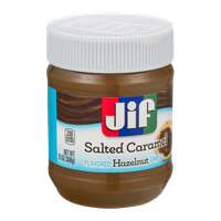 Jif Flavored Hazelnut Spread Salted Caramel
