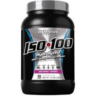 Dymatize Nutrition ISO-100 Whey Protein Powder, Gourmet Berry, 2 Pound