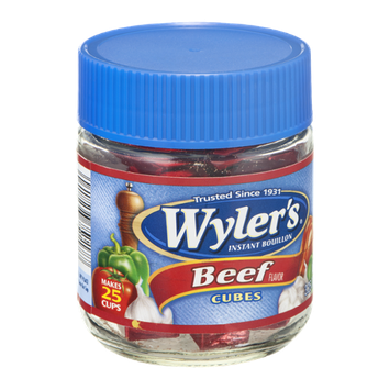 Wyler's Instant Bouillon Beef Cubes