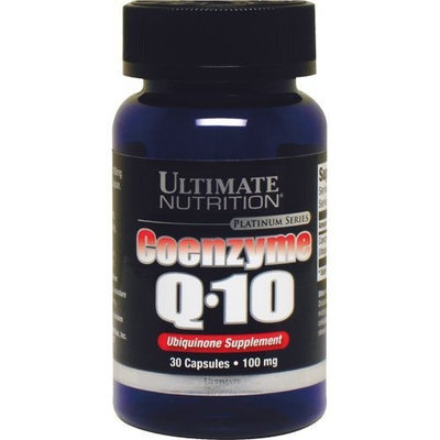 Ultimate NutritionCoenzyme ULTIMATE NUTRITION COENZYME Q10 30 CAPS, Bottle