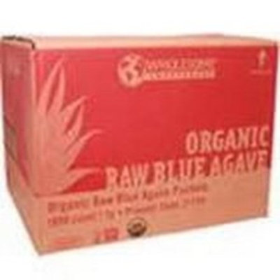 Wholesome Sweeteners Blue Agave, Raw, Packets (1000x7 GR)