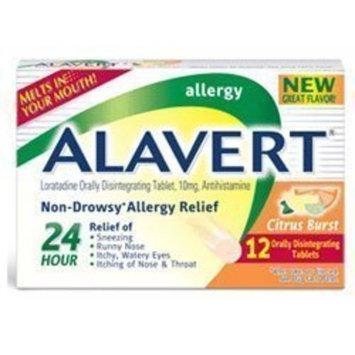 Alavert Non-Drowsy Allergy Relief Citrus Burst Orally Disintegrating Tablets - 10mg