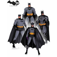 DC Comics Batman 75th Anniversary Action Figure, 4-Pack, Set 1