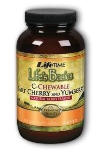 Lifes Basics Tart Cherry Vitamin C 1000mg Berry LifeTime 60 Chewable