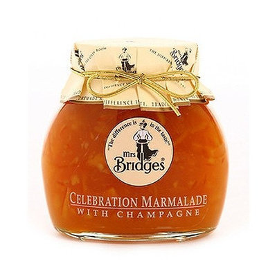 Mrs Bridges Mrs. Bridges Celebration Marmalade with Champagne, 12-Ounce Jars (Pack of 4)