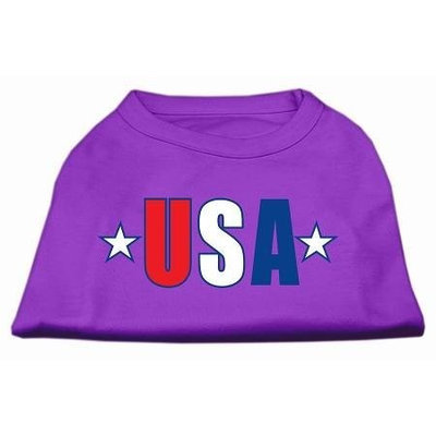 Ahi USA Star Screen Print Shirt Purple Sm (10)