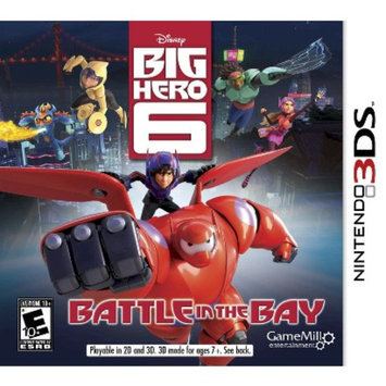 Cokem International Ltd. Big Hero 6: Battle In The Bay (Nintendo 3DS)