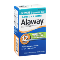 Alaway Antihistamine Eye Drops Original Strength