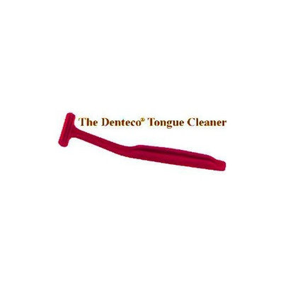 Denteco Tongue Cleaner (Red)