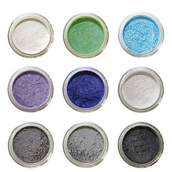 Amore Mio Cosmetics 9-Stack Eye Shadows Set, 01/A, 9-Count