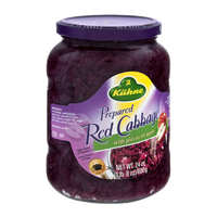 Kuhne Prepared Red Cabbage with Pieces of Apple