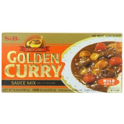 S B S&B Golden Curry Sauce Mix, Mild, 8.4-Ounce