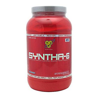 BSN Syntha-6 Strawberry Milkshake Sustained-Release Protein Powder