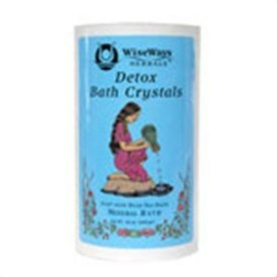 Wise Ways Herbals WiseWays Herbals Detox Bath Crystals -- 16 oz