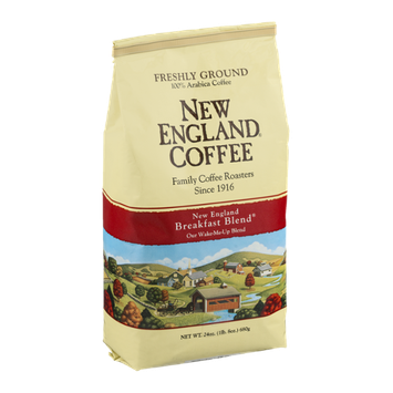 New England Coffee New England Breakfast Blend Freshly Ground