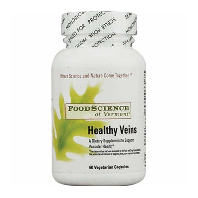 FoodScience of Vermont Healthy Veins 60 Vegetarian Capsules