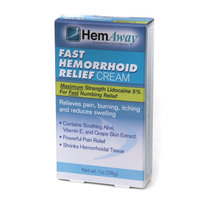 HemAway Fast Hemorrhoid Relief Cream