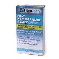 HemAway Fast Hemorrhoid Relief Cream