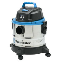 Cleva of North America Vacmaster 4-Gallon Stainless Steel Wet/Dry Vac