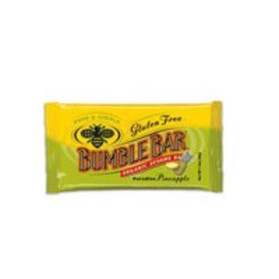 BumbleBar Bumble Bar Organic Seasame Energy Bar Gluten Free Paradise Pineapple, Paradise Pineapple 1.4 OZ(case of 12) (Pack of 2)
