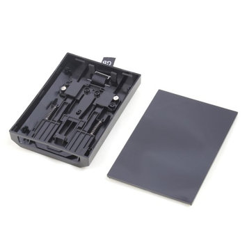 Ids Black HDD Hard Disk Drive Shell Case For New Microsoft Xbox 360 Slim