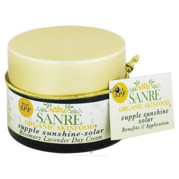 SanRe Organic Skinfood - Supple Sunshine - Organic Rosemary and Lavender Day Cream For Dry to Normal Skin - SPF 30