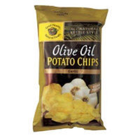 Good Health Olive Oil Potato Chips, Garlic, 5-Ounce (Pack of 12)