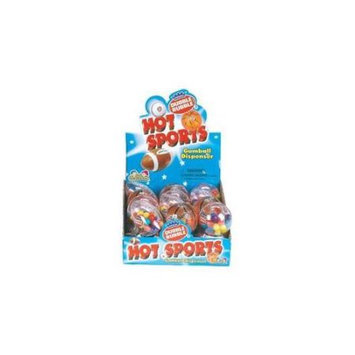 Ddi Sports Gumball Disp W/Gum C/D(Case of 12)
