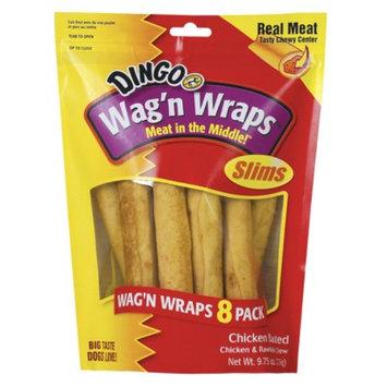 Dingo Wag'n Wraps 8-pk. - Chicken