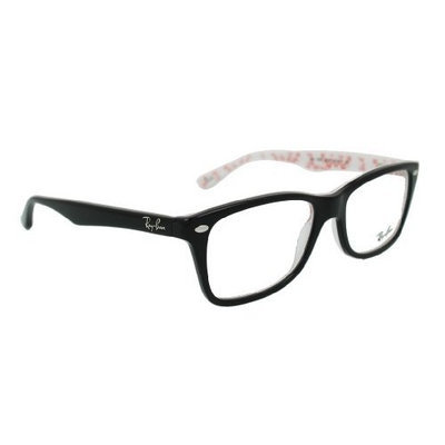 Ray Ban Ray-Ban Eyeglasses RX 5228 5014 Top Black on Texture []