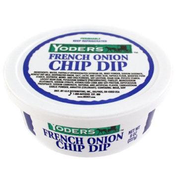 Yoders Yoder Onion Dip 8 Oz
