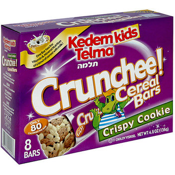 Kedem Kids Crunchee Crispy Cookie Cereal Bars
