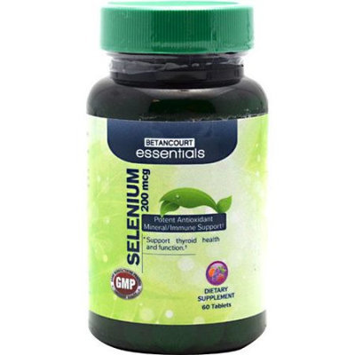 BETANCOURT ESSENTIALS Betancourt Essentials Selenium, 60 Tablets - 200mcg