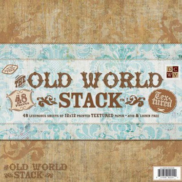 Die Cuts With A View DCWV 48-Sheet Paper Cardstock - World (12