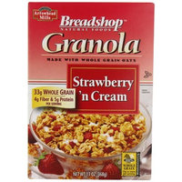Breadshop's Arrowhead Mills Breadshop Strawberry 'n Cream Granola, 13 Ounce Boxes (Pack of 6)