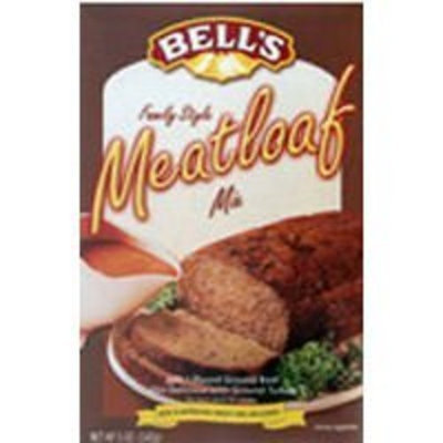 Bell's Ready Mixed Meatloaf & Gravy Mix 5 Oz (Pack of 3)
