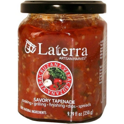 LaTerra Veracruzana - Spicy and Savory Mexican Olive Tapenade with Chili Peppers and Garlic