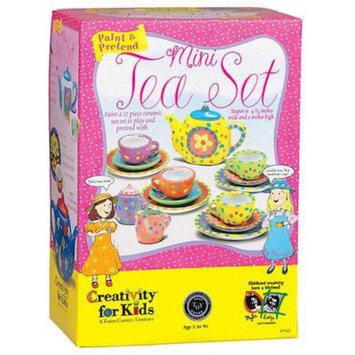 Creativity for Kids Paint and Pretend Mini Tea Set