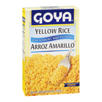 Goya Yellow Rice Low Sodium