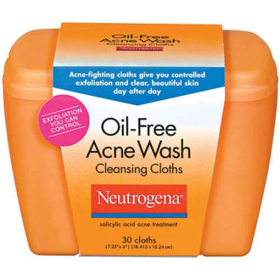 Neutrogena® Oil-Free Acne Wash Cleansing Cloths