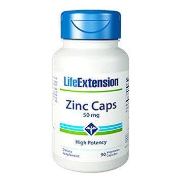 Life Extension Opti Zinc 50 mg Capsule, 90 Count