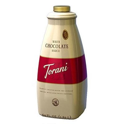 Torani White Chocolate Sauce, Half Gallon